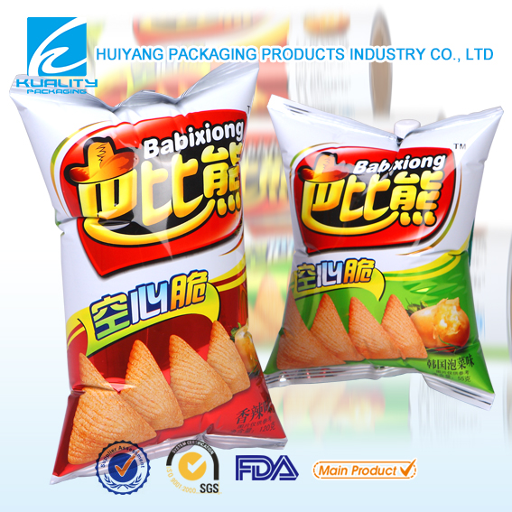 flexible packaging potato chips bag plastic packaging bag