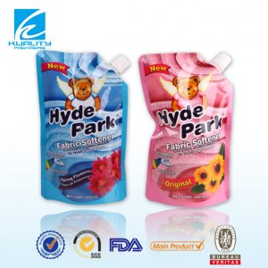Liquid soap packaging pouch 450ml PET/NY/WHITE LDPE
